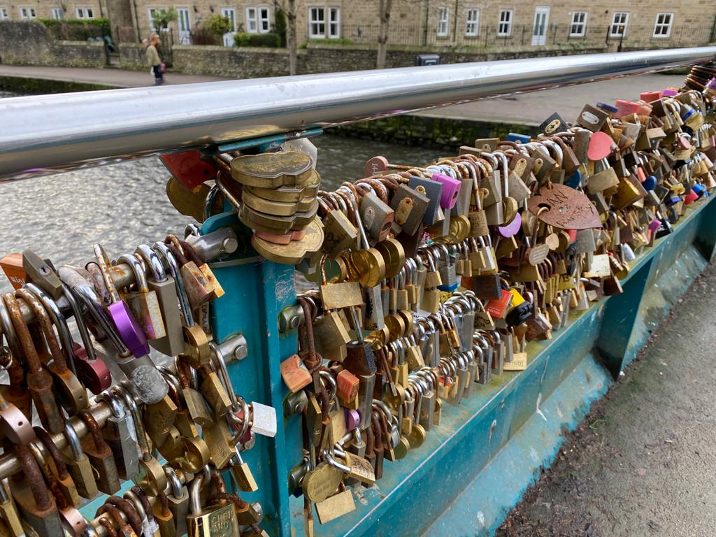Bakewell Love Locks Bridge